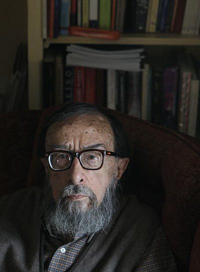 Juan Eduardo Zúñiga, fotografiado ayer en su casa en Madrid.