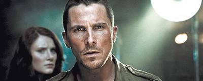 Escena de película con Christian Bale como protagonista.