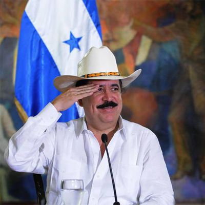 El presidente de Honduras, Manuel Zelaya, el viernes en Tegucigalpa.