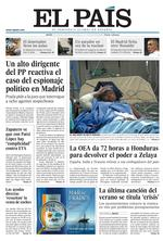 EL PAS Edicin impresa