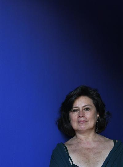 Laura Restrepo, autora de la novela  Demasiados héroes , fotografiada el pasado junio en Madrid.
