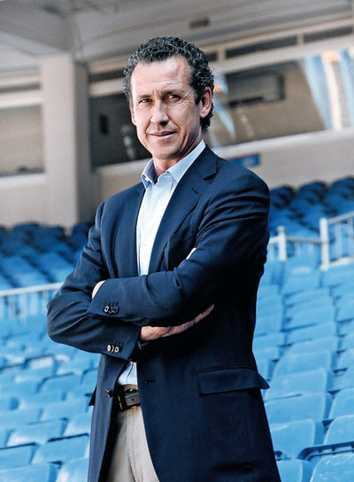 Jorge Valdano, director general del Real Madrid