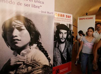 Pabellón de Argentina en la Feria Internacional del Libro de La Habana (Cuba) en 2007.