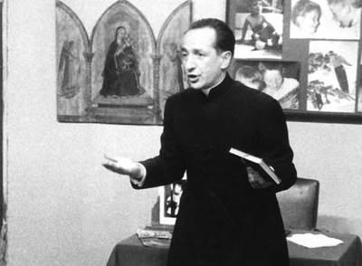 Jesús Urteaga, en uno de sus programas en la pequeña pantalla.