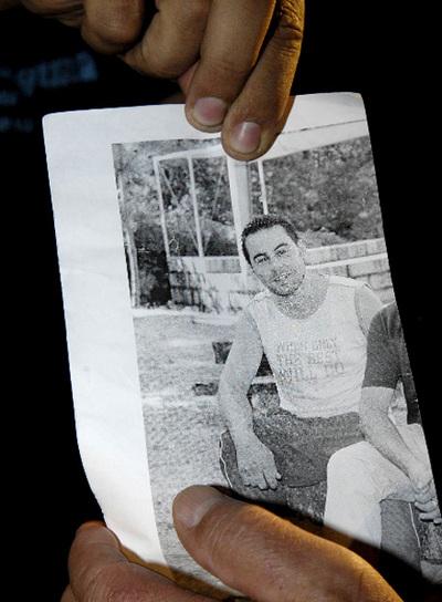 Una foto del acusado mostrada por un conocido suyo.