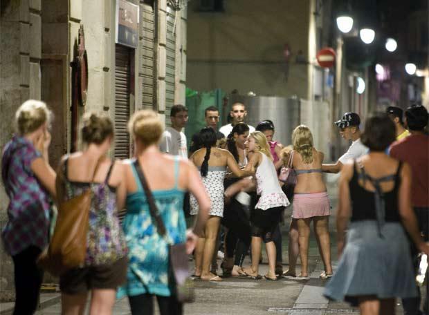 pelea de prostitutas prostitutas goticas barcelona