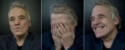 El director estadounidense Abel Ferrara, retratado ayer en la Mostra de Venecia.