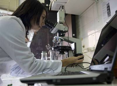 Laboratorio de investigación de la facultad de Físicas de la Universidad de Santiago de Compostela.