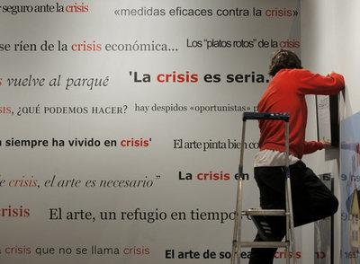 Imagen de la obra conjunta de los artistas Rogelio López Cuenca y Antoni Muntadas exhibida en la última edición de Arco.