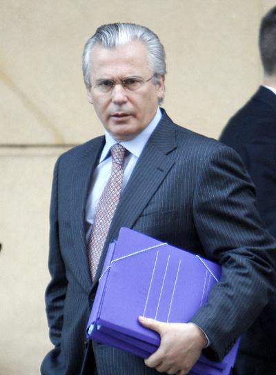 El juez de la Audiencia Nacional Baltasar Garzón.