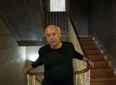 El autor uruguayo Eduardo Galeano, la semana pasada en Madrid.