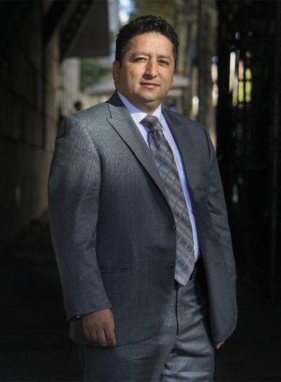 Herbin Hoyos, director de  Las voces del secuestro.