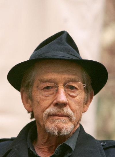 El actor británico John Hurt.