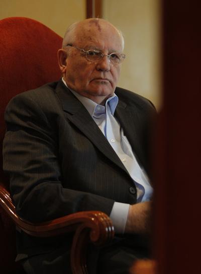 Mijaíl Gorbachov, es actualmente director de una fundación en Moscú
