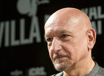 El actor Ben Kingsley, en Sevilla.