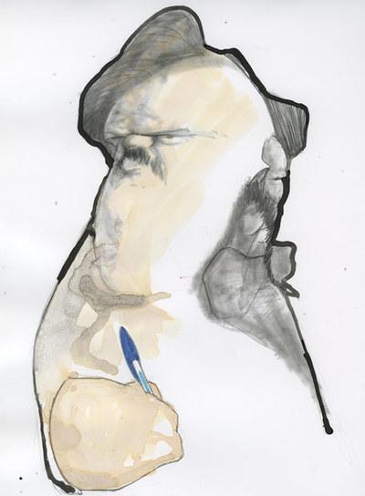 Honoré de Balzac y Gustave Flaubert.