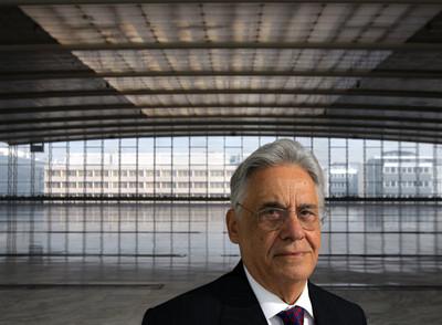 Fernando Henrique Cardoso, ex presidente de Brasil, el pasado jueves, en Madrid.