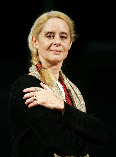 La actriz Vicky Peña.