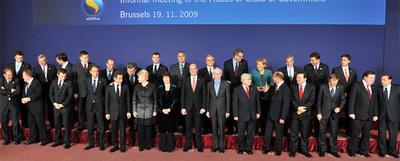 Foto de familia del último Consejo europeo, celebrado el pasado 19 de noviembre en Bruselas.