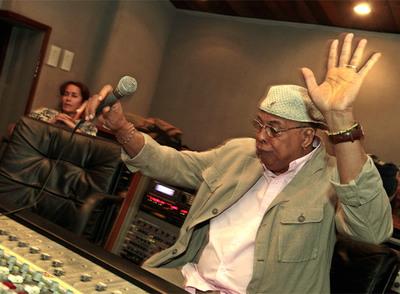 Chucho Valdés, durante la grabación de  Chucho's Steps  en La Habana.