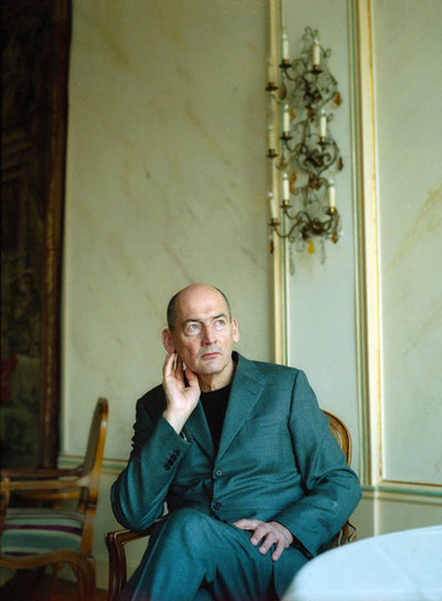 El arquitecto holandés Rem Koolhaas (Rotterdam, 1944).