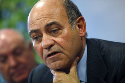 Gerardo Díaz Ferrán, durante la rueda de prensa en la sede de Air Comet en Madrid.