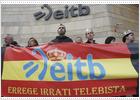 Contra la emisión del mensaje por la televisión vasca