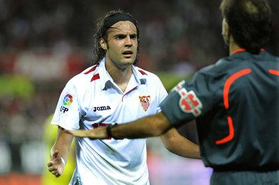 Sergio Sánchez, en un partido de esta temporada con el Sevilla.