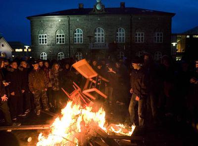 Islandia se queda sin felicidad