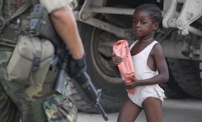 FOTOGALERIA: El Ejército de EE UU impone orden
