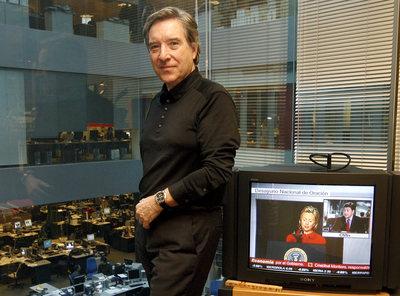 El periodista Iñaki Gabilondo, en CNN +.