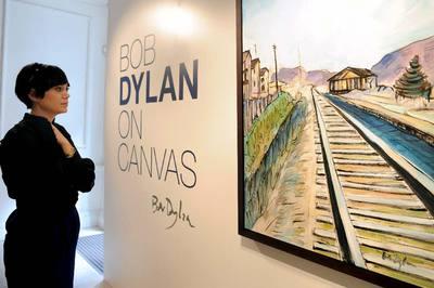 Bob Dylan pinta habitaciones con vistas