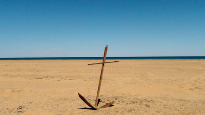 FOTOGALERIA: Anclado en el desierto