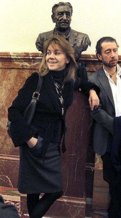No fue al juzgado. Dolores de Cospedal no fue ayer al acto de conciliación en un juzgado de Madrid por una querella contra ella por sus denuncias de espionaje del pasado verano. Sí fue su procurador.