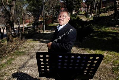 Manuel Lillo Torregrosa,  requintista  de la Banda Sinfónica Municipal.