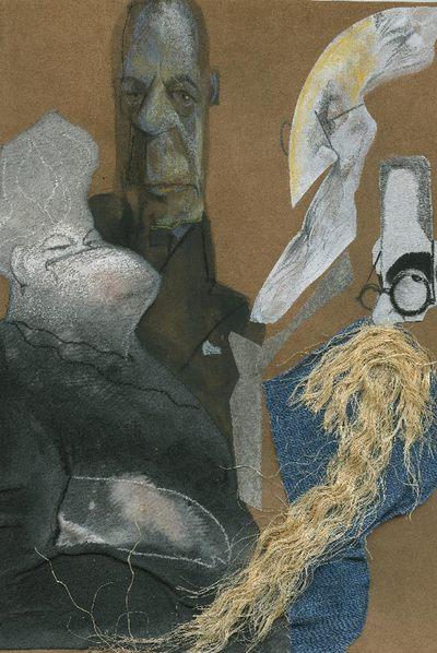 Emilia Pardo Bazán, Ortega y Gasset, Unamuno y Valle-Inclán vistos por Sciammarella.