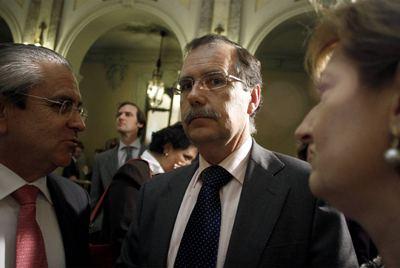 Francisco Vieira, presidente del TSJ de Madrid, en un acto del Tribunal Supremo.