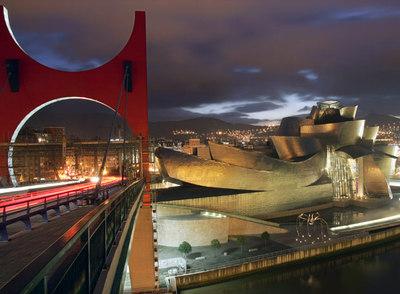 Vista del Museo Guggenheim Bilbao.