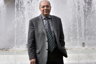 Manuel Aldeguer, comisario de Aguas de la Confederación Hidrográfica del Segura.