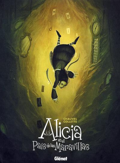 Ilustración de  Alicia en el País de las Maravillas  (Glénat),rnde Xavier Collette.