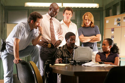 Fotograma de la serie  The Wire , usada por el sociólogo y profesor de Harvard William Julius Wilson.