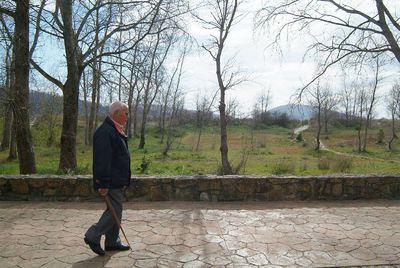 Paisaje de Cedeira que ocupó entre 1937 y 1938 un campo de concentración franquista, junto a la playa de A Magdalena.