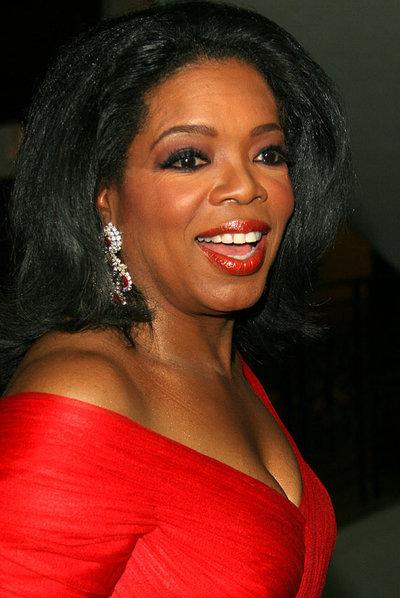 La presentadora de televisión Oprah Winfrey.