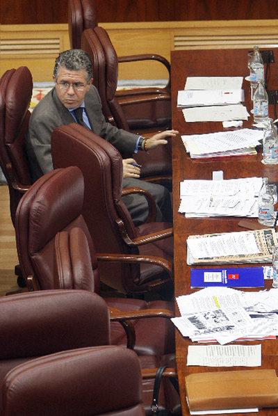 El consejero Francisco Granados.