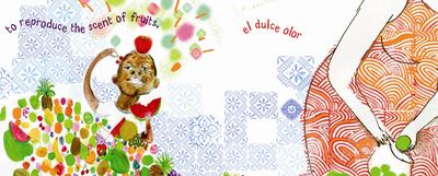 Ilustración de Sonia Sánchez para  Bubbles  Pompas  (Topka), de Gwyneth Box