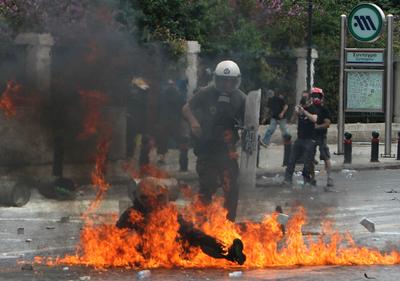 FOTOGALERIA: En medio de las llamas