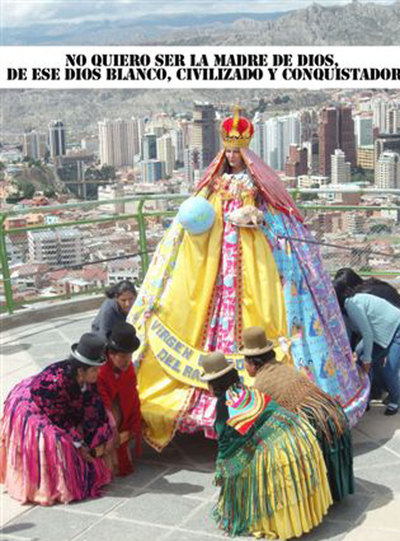La Virgen Barbie  , de María Galindo.