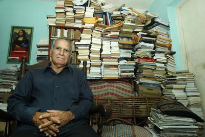 El disidente cubano Oscar Espinoza Chepe, en su casa de La Habana.
