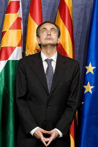 Zapatero, en una imagen del pasado marzo en Cataluña.
