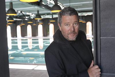 Philippe Starck, en la Alhóndiga de Bilbao.